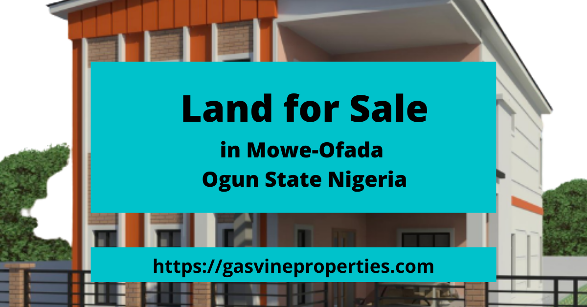 Land for Sale in Mowe Ofada Dreamland Estate